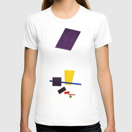 Kazimir Malevich - Painterly Realism of a Football Player—Color Masses in the 4th Dimension (new edi T-shirt