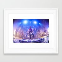 pierce the veil Framed Art Prints featuring Pierce The Veil by shannonbenannen