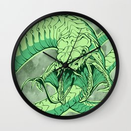 Snakeface Wall Clock