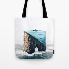 Mystical Island Tote Bag