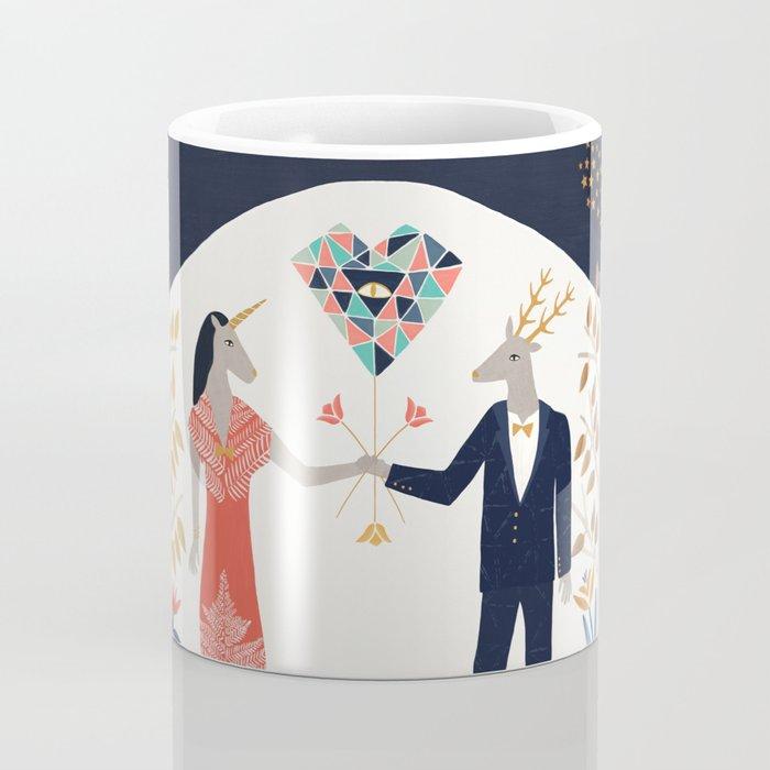 The stag finally found his unicorn Coffee Mug