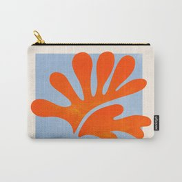 Red Coral Leaf: Matisse Paper Cutouts II Carry-All Pouch