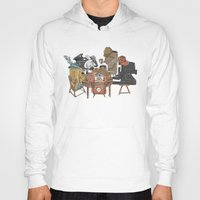 poker Hoodies featuring Polaroid Poker by Romayne Robinson
