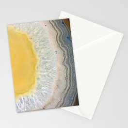 agate slice no. 3 Stationery Cards