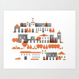 The Alhambra Art Print