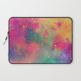 Watercolor Rain Laptop Sleeve