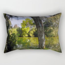 On the banks of the Thompson River Rectangular Pillow