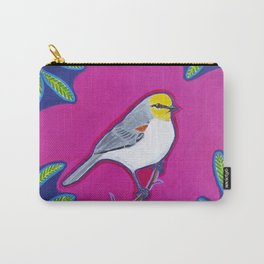 Vivacious Verdin Carry-All Pouch