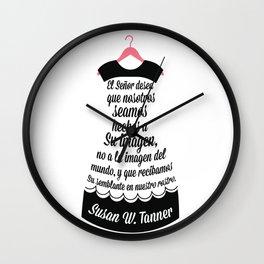 Hechos a Su Imagen Wall Clock