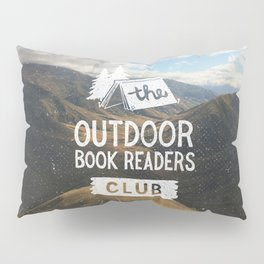 The Outdoor Book Readers Club Pillow Sham