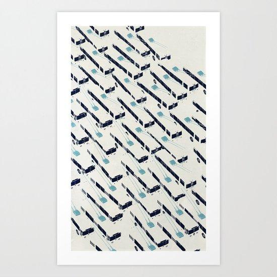 Trolleyjam Art Print