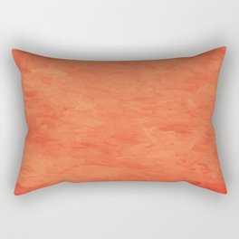 Impressions in Hues of Orange Home Decor Rectangular Pillow