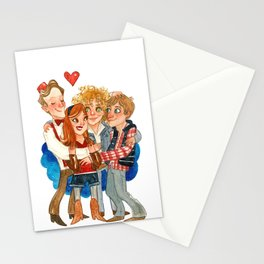 11th Doctor Who and Companions HUG Stationery Cards