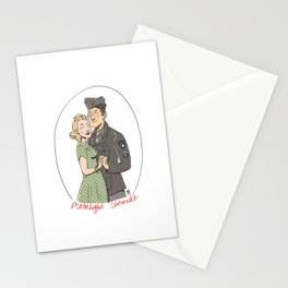 Moonlight Serenade Stationery Cards