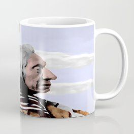 Chief Red Cloud. Oglala Lakota. 1898 COLOR - 026c Coffee Mug