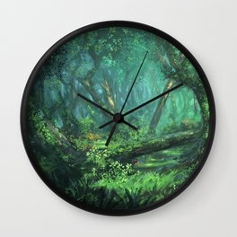 Forest of the Wise Wall Clock