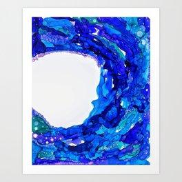 W A V E S Art Print