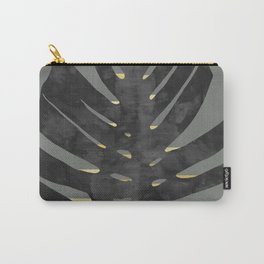 Leaf with gold Carry-All Pouch