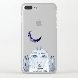 Planet Cancer Clear iPhone Case