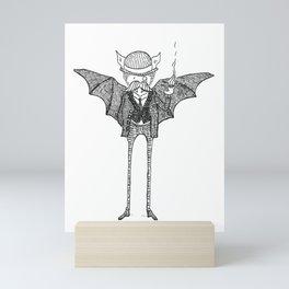 Watson the Bat Mini Art Print