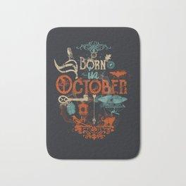 Born in October Bath Mat