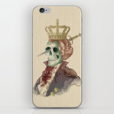 I LOVE THE KING iPhone & iPod Skin