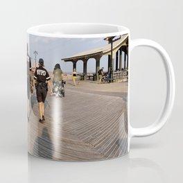 Beach Cops on Patrol Coffee Mug