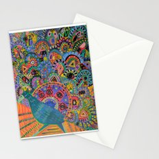 Peacock # 5 Stationery Cards