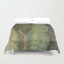 Eucalyptus Tree Bark 6 Duvet Cover