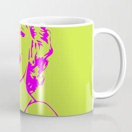 Marilyn Yellow Coffee Mug