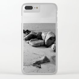 Insel Fehmarn Clear iPhone Case