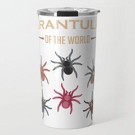 Tarantula Lover Spider Classification Gift Travel Mug