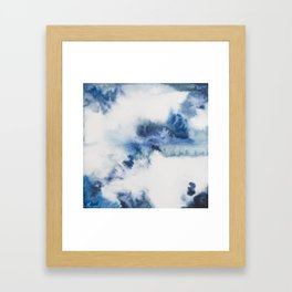 I see blue Framed Art Print