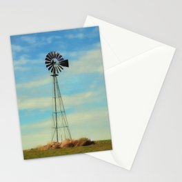 Farm Windmill Stationery Cards