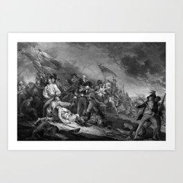 The Battle of Bunker Hill Art Print