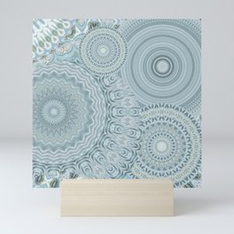 Ylide - Mandala storage Y of Alphabet collection Mini Art Print
