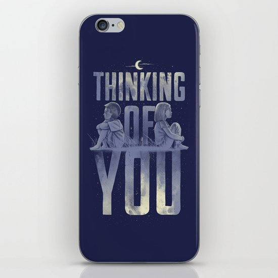 'Thinking of You' iPhone & iPod Skin