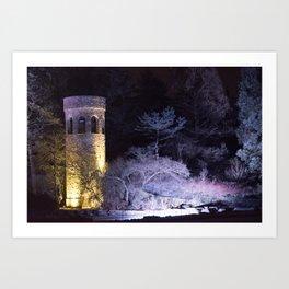 Longwood Gardens Christmas Series 124 Art Print