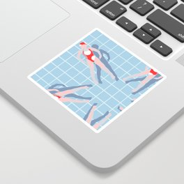 Sport Series: Synchronized Swimming Sticker