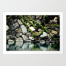 Reflection Rock Art Print
