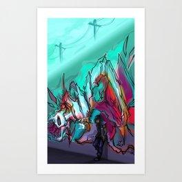 carnivores Art Print