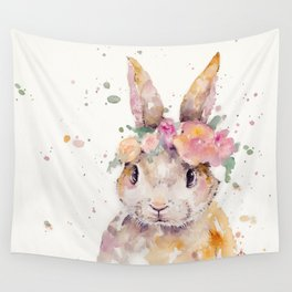 Little Bunny Wall Tapestry