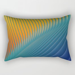 Architexture Color Rectangular Pillow
