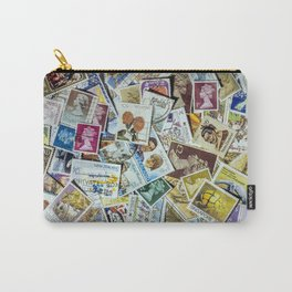 Postage Stamp Collection Carry-All Pouch