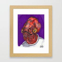 Admiral Trap Framed Art Print
