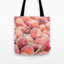 Peaches at the Farmer's Market Tote Bag