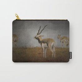 Storm Spotters - Blackbuck Antelope - Wildlife  Carry-All Pouch