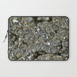 Pyrite Geode Laptop Sleeve