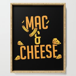 Mac And Cheese | Favorite Food Delicious Tasty Serving Tray