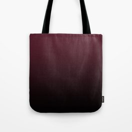 Burgundy Wine Ombre Gradient Tote Bag